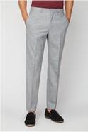 Cool Grey Flannel Regular Fit Suit