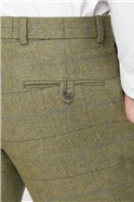 Green Heritage Check Slim Fit Suit