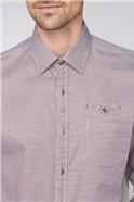 Berry Weaves Check Shirt