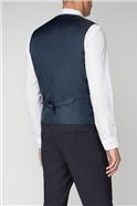 Navy Plain Suit Waistcoat