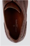 Brown Cap Toe Shoe