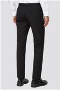 Black Plain Two Piece Suit