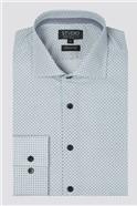 Stvdio White Micro Sun Print Shirt