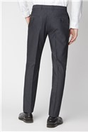 Charcoal Micro Texture Trousers