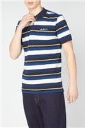 Block Stripe Polo