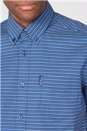 Printed Dash Stripe Shirt
