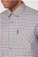Oxford Gingham Check Shirt