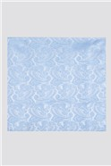 Light Blue Paisley Tie & Hank Set