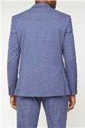 Mid Blue Fleck Trousers