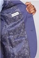 Mid Blue Fleck Slim Fit Suit