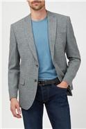 Light Grey Broken Check Suit
