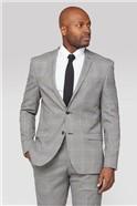 Heritage Check Slim Fit Suit Trouser