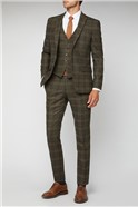 Green Heritage Tweed Tailored Suit Jacket