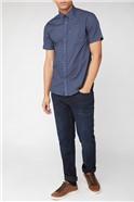 Paisley Print Short Sleeve Shirt