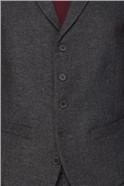 Charcoal Donegal Slim Fit Suit Jacket