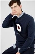 Dark Navy Signature Target Sweatshirt