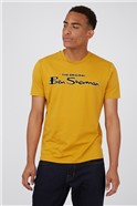 Mustard Signature Logo T-Shirt
