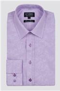 Stvdio Floral Stripe Jacquard Formal Shirt