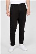 Straight Fit Black Denim Jeans