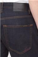 Straight Fit Vintage Wash Jeans