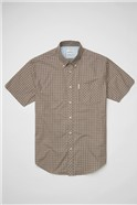 Mini Mod Hemp Check Shirt