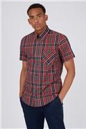 Red Tartan Check Shirt