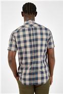 Dijon Twill Checked Shirt