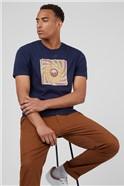 Marine Soul Rebel Record Short Sleeved T-Shirt