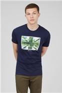 Marine Painted Union Jack T-Shirt