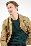 Sand Cotton Workwear Style Jacket