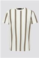 Stripe T-Shirt in White