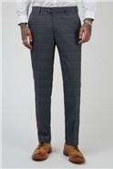 Jenson Blue Check Tailored Fit Suit