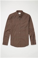 Caramel Mini Foulard Print Shirt