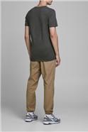 JACK & JONES Charcoal Graphic T-Shirt