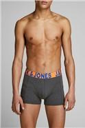 JACK & JONES 3 Pack Bright Boxer Shorts