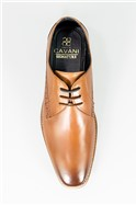 Brown John Leather Shoes