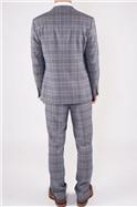 Enzo Blue Stone Three Piece Suit