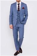 Blue Sid Three Piece Suit