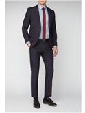 Red Tartan Slim Fit Suit