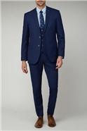 Cobalt Graph Check Suit