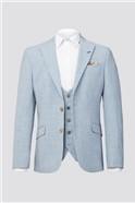 Light Blue Plain Suit