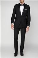 Black Plain Dresswear Suit