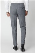 Grey Textured Trousers