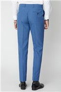 Blue Puppytooth Trousers