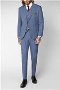 Pale Blue Plain Trousers
