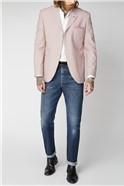 Pink Seersucker Stripe Jacket