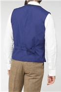 Navy Shetland Check Jacket