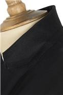 Black Twill Waistcoat
