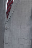 Silver Grey Tailored Fit Suit