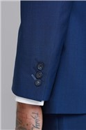 Royal Blue Tailored Fit Waistcoat